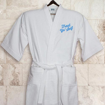 Parks and Recreation Treat Yo' Self Embroidered Robe