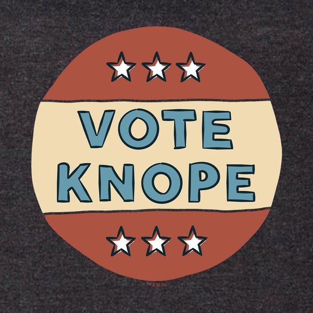 Parks and Recreation Vote Knope Men's Tri-Blend Short Sleeve T-Shirt