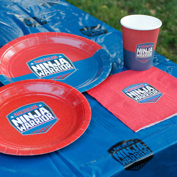 American Ninja Warrior Official Party Supplies Pack for 10 Guests