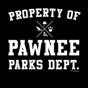 Parks and Recreation Property of Pawnee Samsung Galaxy Tough Phone Case