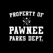Parks and Recreation Property of Pawnee iPhone Tough Phone Case