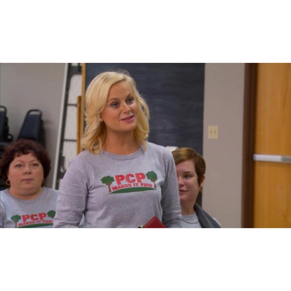 Parks and Recreation PCP Makes it Fun Long Sleeve T-Shirt-secondary-image