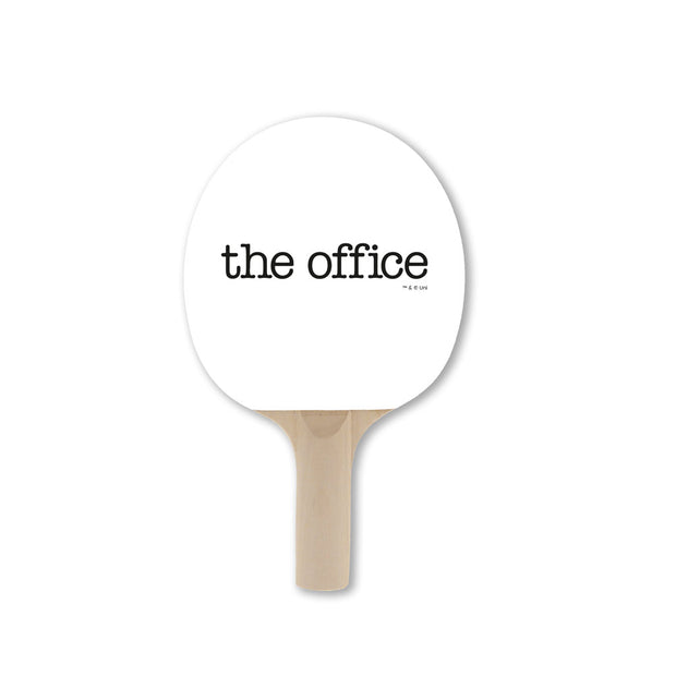 The Office Ping Pong Paddle