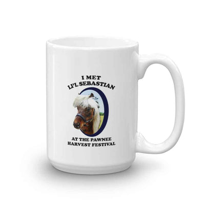 Parks And Recreation Li'l Sebastian White Mug