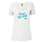 Parks and Recreation Treat Yo Self Women's Relaxed Scoop Neck T-Shirt