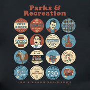 Parks and Recreation Quote Mash-Up Hooded Sweatshirt