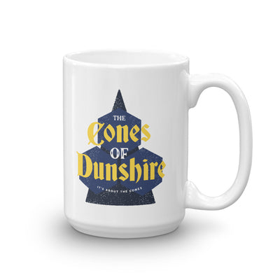 Parks and Recreation The Cones of Dunshire White Mug