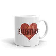 Parks and Recreation Happy Galentine's Day White Mug