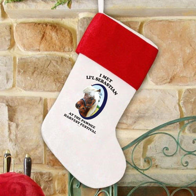 Parks and Recreation Li'l Sebastian Stocking
