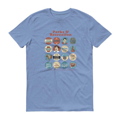 Parks and Recreation Quote Mash-Up Short Sleeve T-Shirt