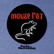 Parks and Recreation Mouse Rat Circle  Men's Short Sleeve T-Shirt