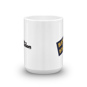 Parks and Recreation Rent-A-Swag White Mug