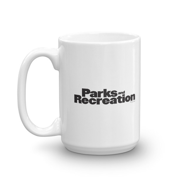 Parks and Recreation Snake Juice White Mug