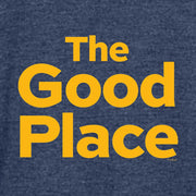 The Good Place Logo Tri-blend Raglan Hoodie