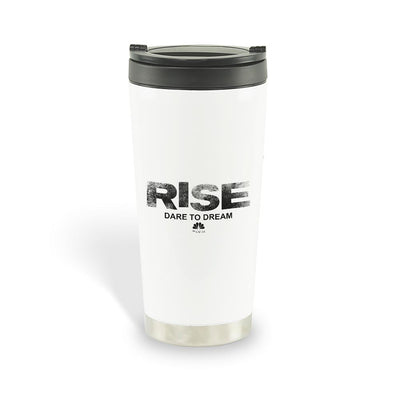 Rise Logo Stainless Steel Travel Mug