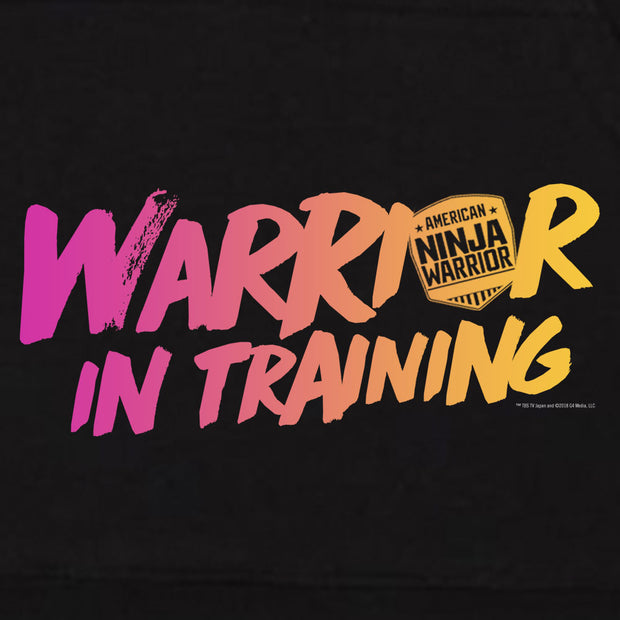 Warrior In Training Kids Hooded Sweatshirt