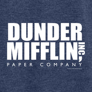 The Office Dunder Mifflin Tri-blend Raglan Hoodie