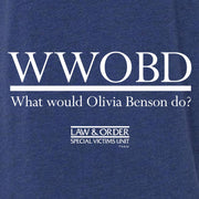 Law & Order: SVU WWOBD Women's Relaxed V-Neck T-Shirt