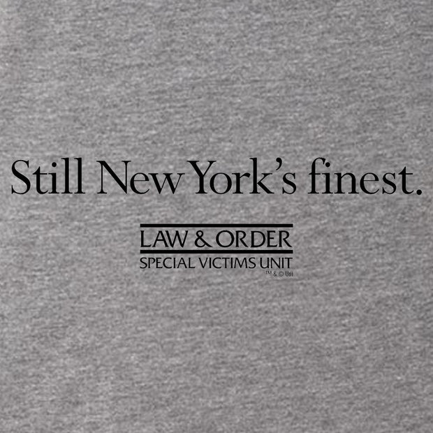 Law & Order: SVU Still New York's Finest Men's Men's Tri-Blend T-Shirt