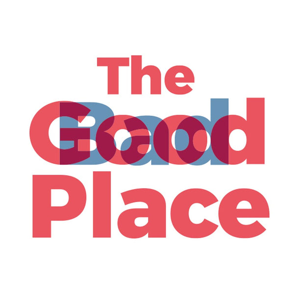 The Good Place Bad Place White Mug