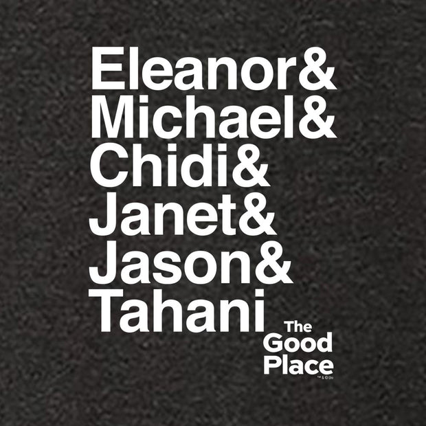 The Good Place Ampersand Men's Tri-Blend Short Sleeve T-Shirt
