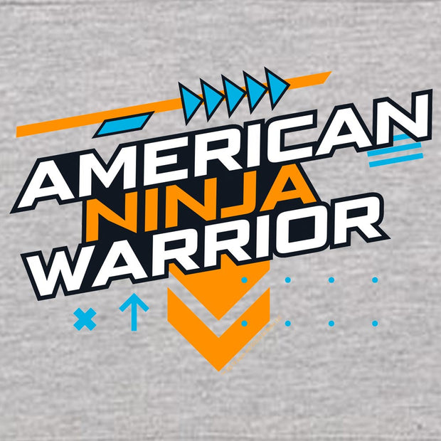 American Ninja Warrior Graphic Kids Hooded Sweatshirt