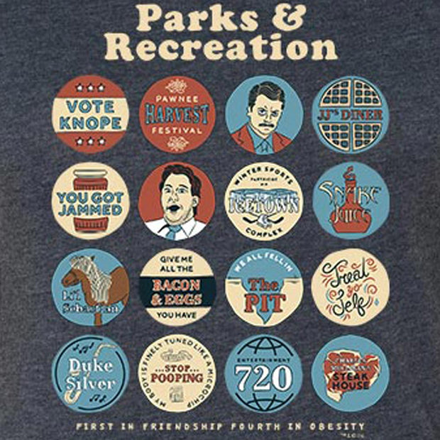 Parks and Recreation Quote Mash-Up Women's Tri-Blend T-Shirt