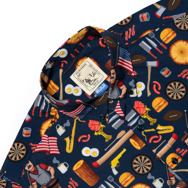 Parks and Recreation Ron Swanson's Shirt of Greatness Button Down Shirt