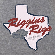 Friday Night Lights Riggins Rigs Women's Tri-Blend Short Sleeve T-Shirt