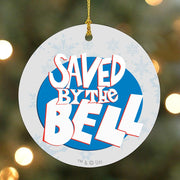 Saved by The Bell Logo Ornament