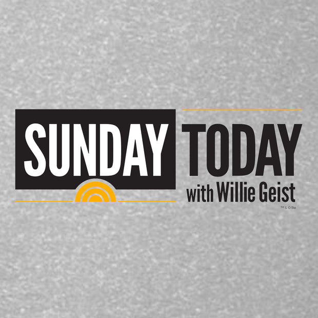 Sunday TODAY with Willie Geist Women's Relaxed Scoop Neck T-Shirt