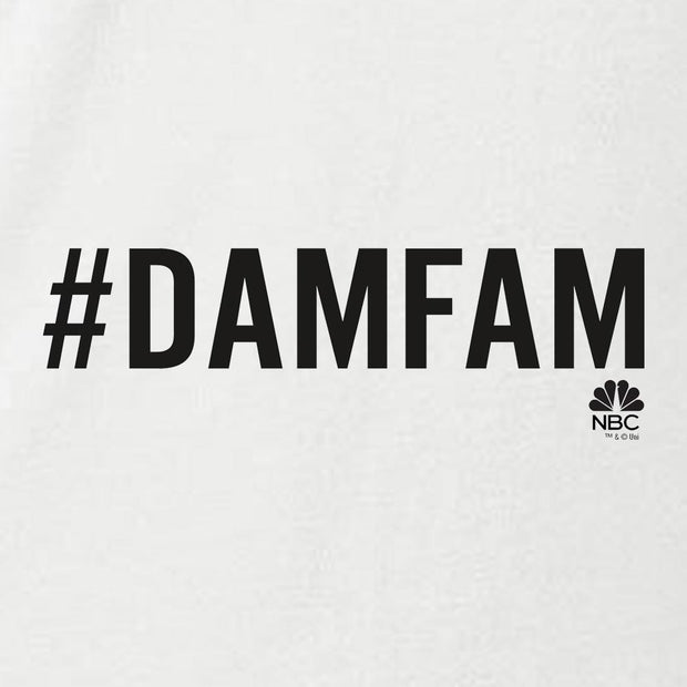 New Amsterdam #damfam Women's Relaxed Scoop Neck T-Shirt