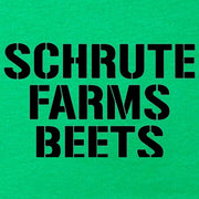 The Office Schrute Farms Beets St. Paddy's Day Women's T-Shirt