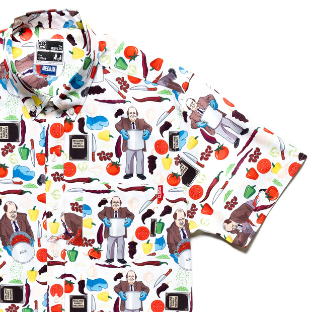 The Office Kevin's Famous Chili Button Down Shirt