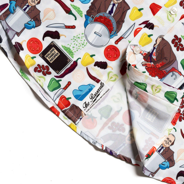 The Office Kevin S Famous Chili Button Down Shirt Nbc Store
