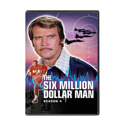 Six Million Dollar Man - Season 4 DVD