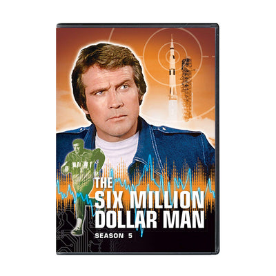 Six Million Dollar Man - Season 5 DVD