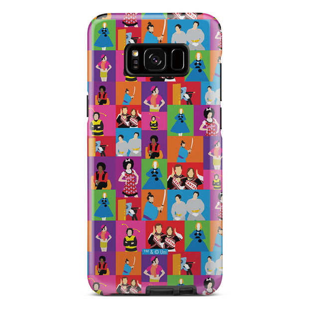 Saturday Night Live Classic Skits Pattern Tough Phone Case