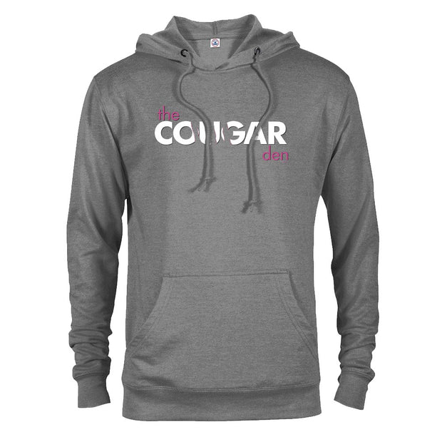 Saturday Night Live Cougar Den Logo Lightweight Hooded Sweatshirt