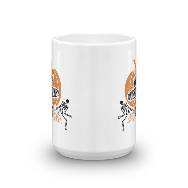 Saturday Night Live David S. Pumpkins  White Mug