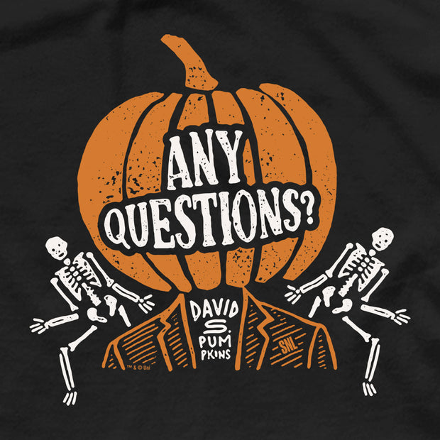 Saturday Night Live David S. Pumpkins Men's Short Sleeve T-Shirt
