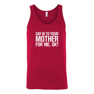 Saturday Night Live Hi Mother Tank Top