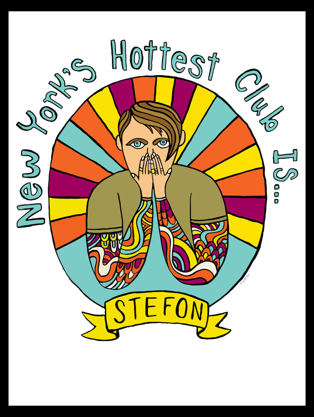 Saturday Night Live Stefon New York's Hottest Club Poster - 18x24