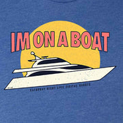Saturday Night Live I'm on a Boat Men's Tri-Blend Short Sleeve T-Shirt