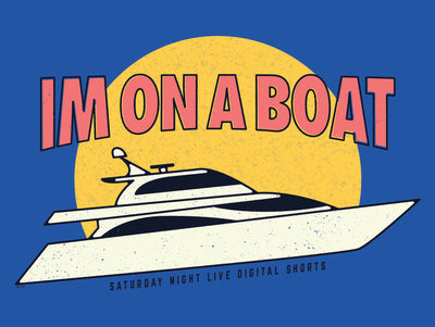 Saturday Night Live I'm on a Boat Poster - 18x24