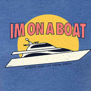 Saturday Night Live I'm on a Boat Women's Tri-Blend Short Sleeve T-Shirt