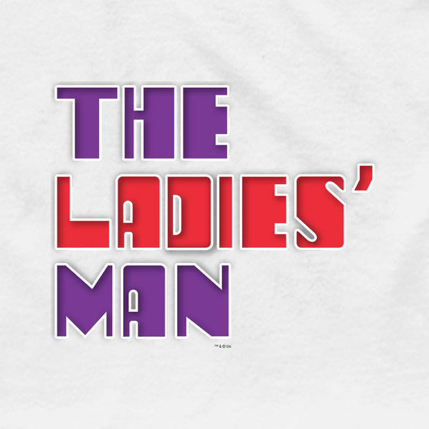 Saturday Night Live The Ladies Man Logo Men's T-Shirt