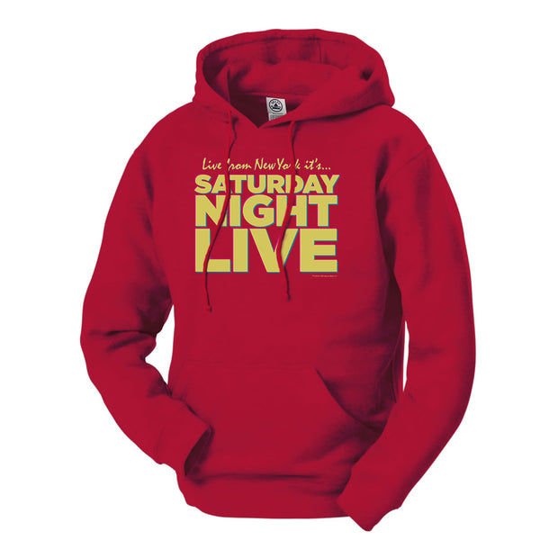 Saturday Night Live Live From New York Hooded Sweatshirt