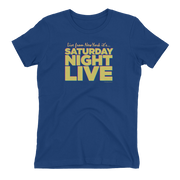 Saturday Night Live Live From New York Women's Short Sleeve T-Shirt