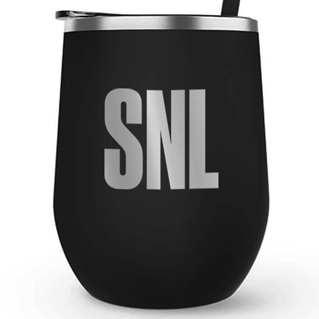 Saturday Night Live 12 oz Stainless Steel Wine Tumbler
